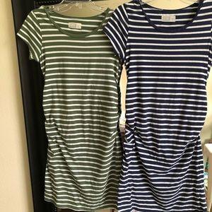 Old Navy maternity dresses- maternity staple!